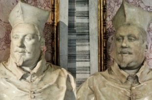 Two Busts of Cardinal Scipione Borghese