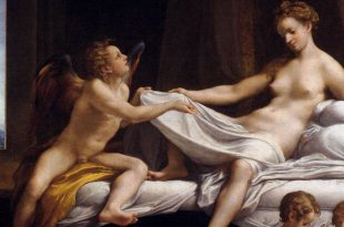 Danae by Correggio