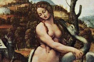 Leda and the Swan by followers of Leonardo da Vinci