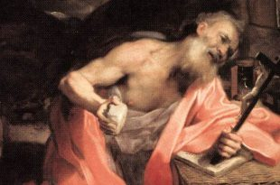 St Jerome by barocci in the borghese gallery
