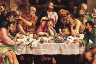 The Last Supper by Jacopo Bassano
