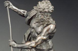 Neptune by Gian Lorenzo Bernini in the Borghese Gallery in Rome
