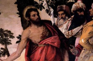 Sermon of St John Baptist by Veronese in Borghese Gallery