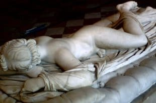 Sleeping Hermaphroditus in the Borghese gallery