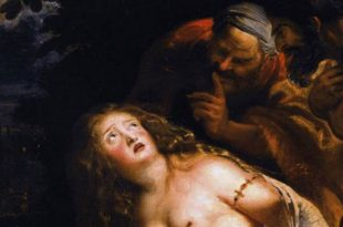 Susanna and the Elders in Borghese Gallery Rubens