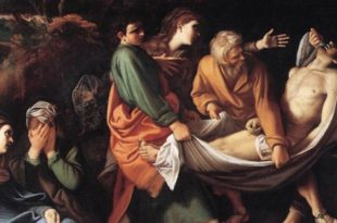 The Entombment of Christ by Badalocchio