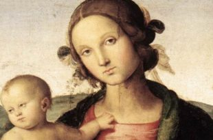 virgin and child by perugino